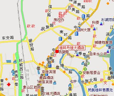 Guilin Osmanthus Hotel Map
